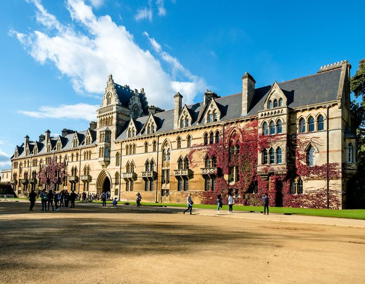 Christ Church College is where Alice in Wonderland creator Lewis Carroll lectured in maths.