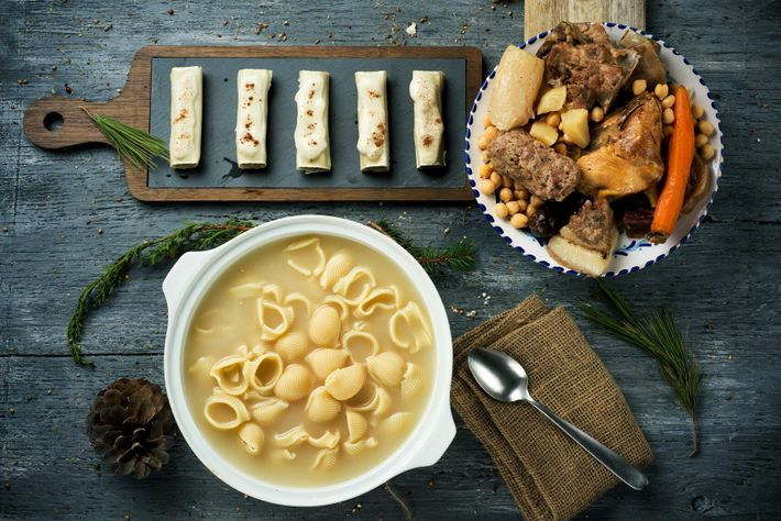 Sopa de galets, a Catalan Christmas tradition, is a labour of love: the broth, made from a ...