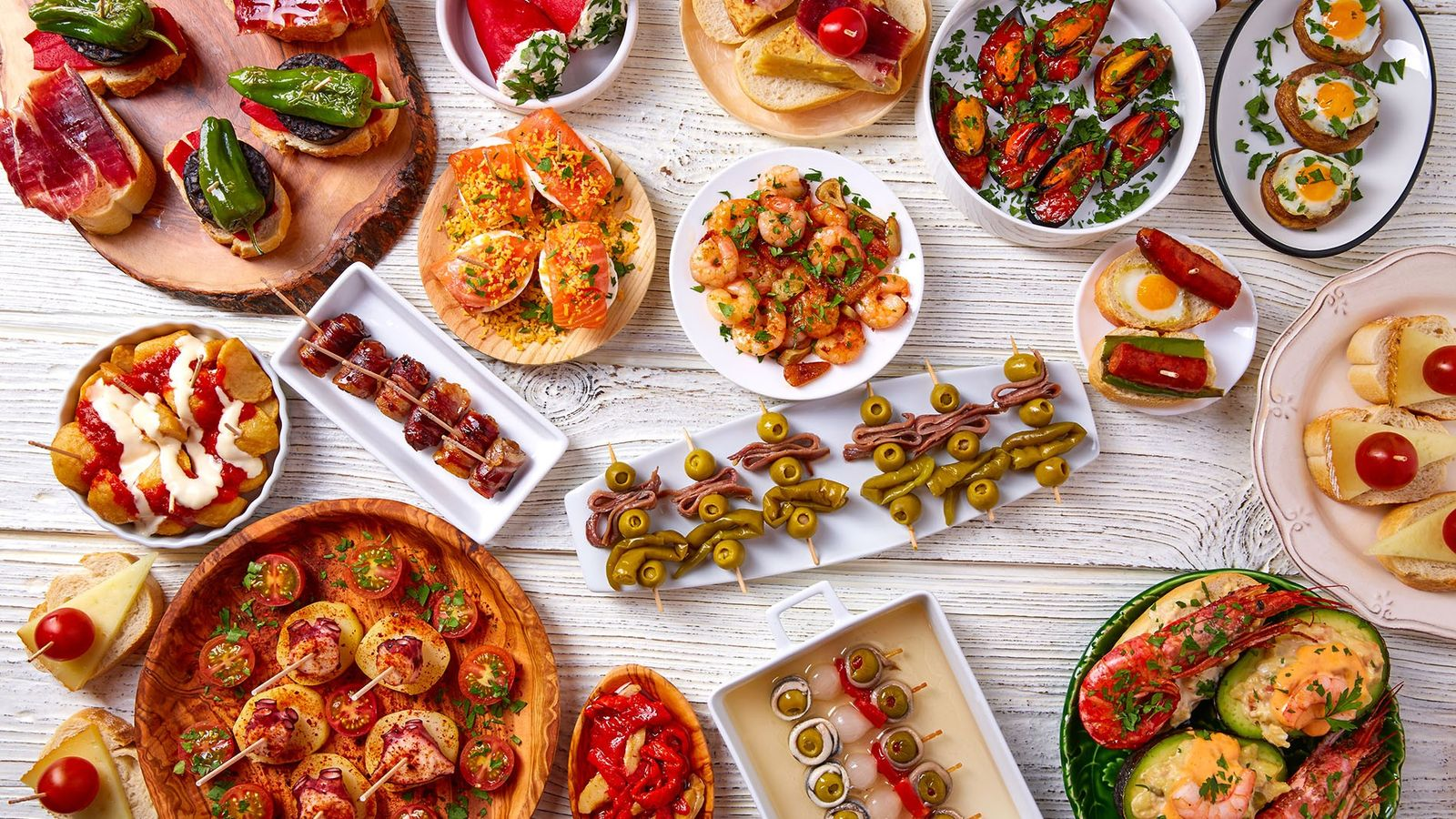 Our first virtual event will dive into the world of Spanish food
