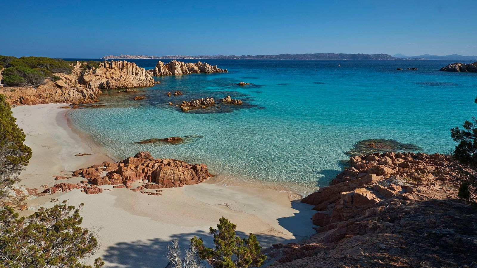 The tiny isle of Budelli makes up part of La Maddalena archipelago, much admired for its ...