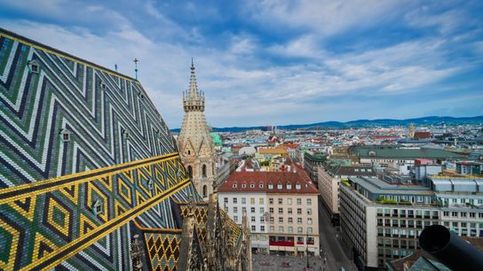 Vienna from St. Stephens Cathedral
