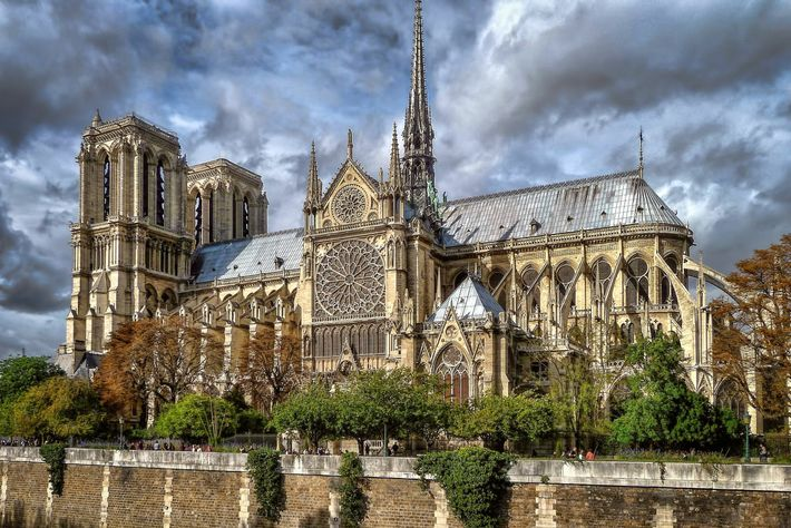 Notre-Dame, on Paris's Île de la Cité, suffered a fire in 2019 that collapsed its iconic central ...