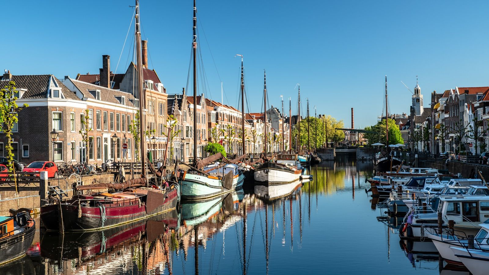 Delfshaven is a borough of Rotterdam on the right bank of river Nieuwe Maas, in South ...
