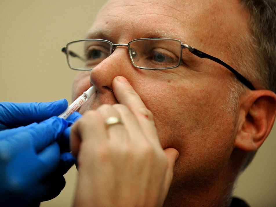 A spritz instead of a jab? Future COVID-19 vaccines may go up your nose.