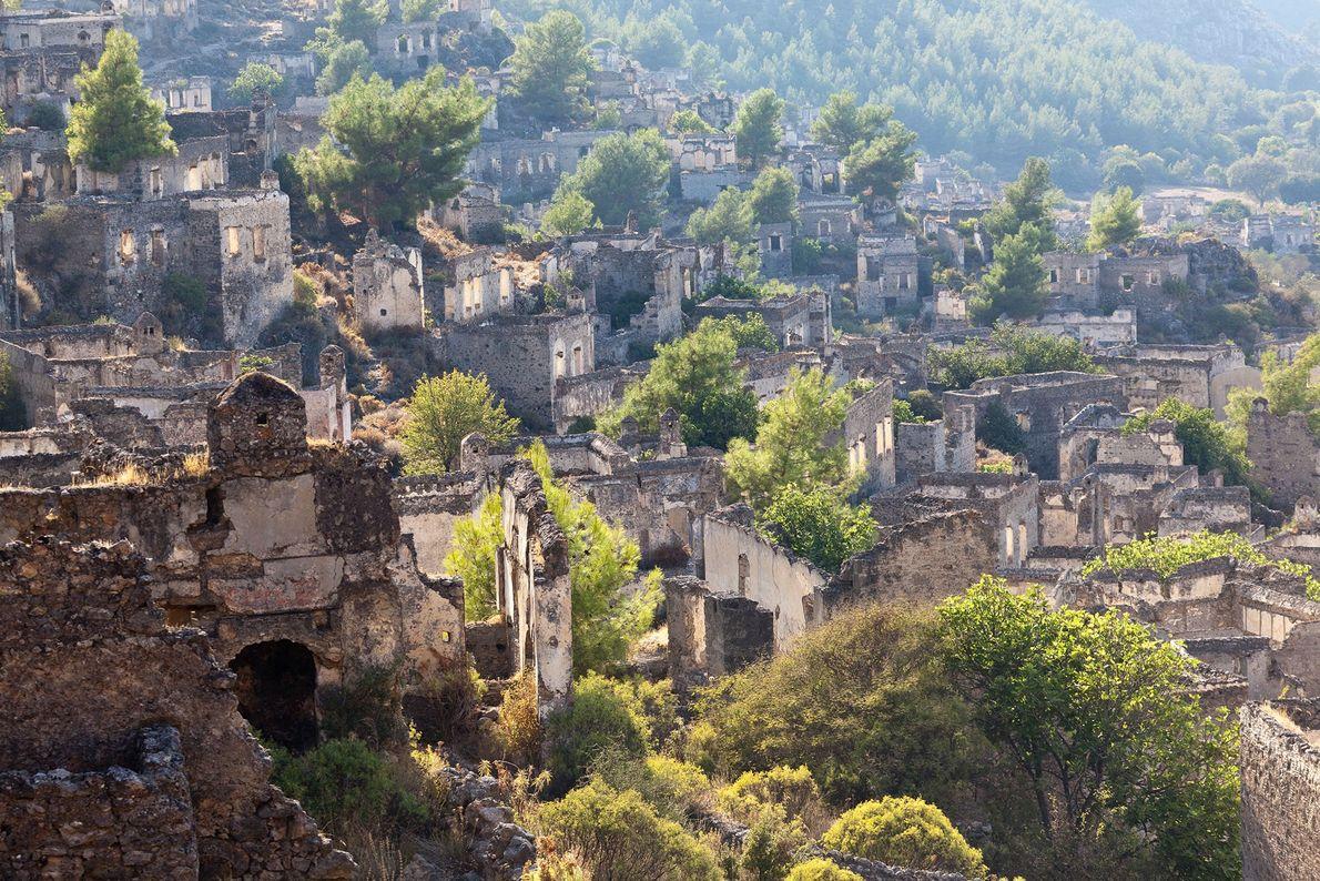 Kayaköy, Anatolia, Turkey