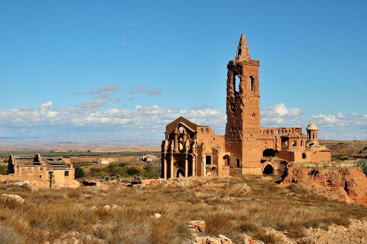 BELCHITE, ZARAGOZA PROVINCE, SPAIN Belchite was the site of a particularly brutal battle during the Spanish Civil …