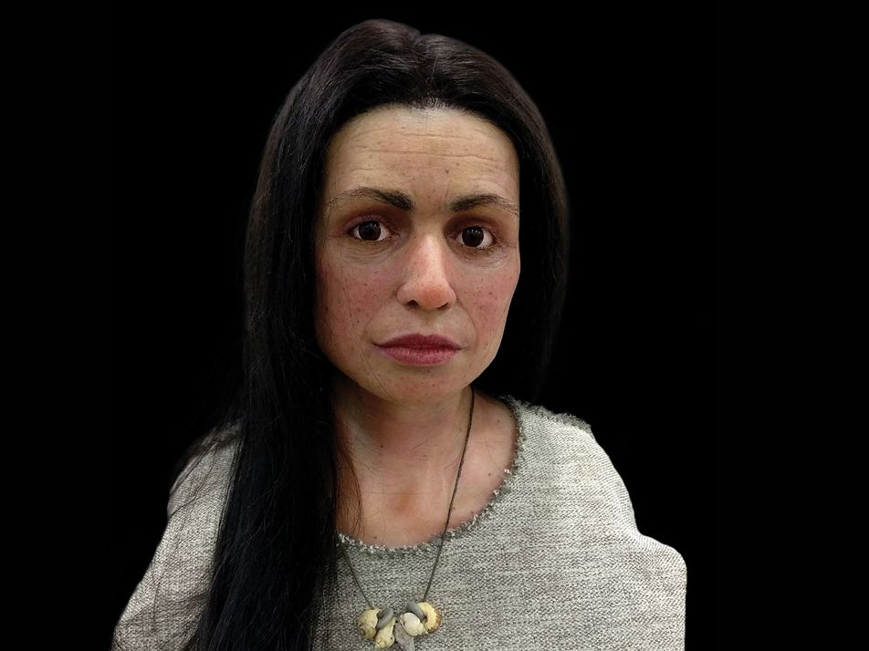 Face of a 7,500-year-old woman reveals Gibraltar's earliest humans