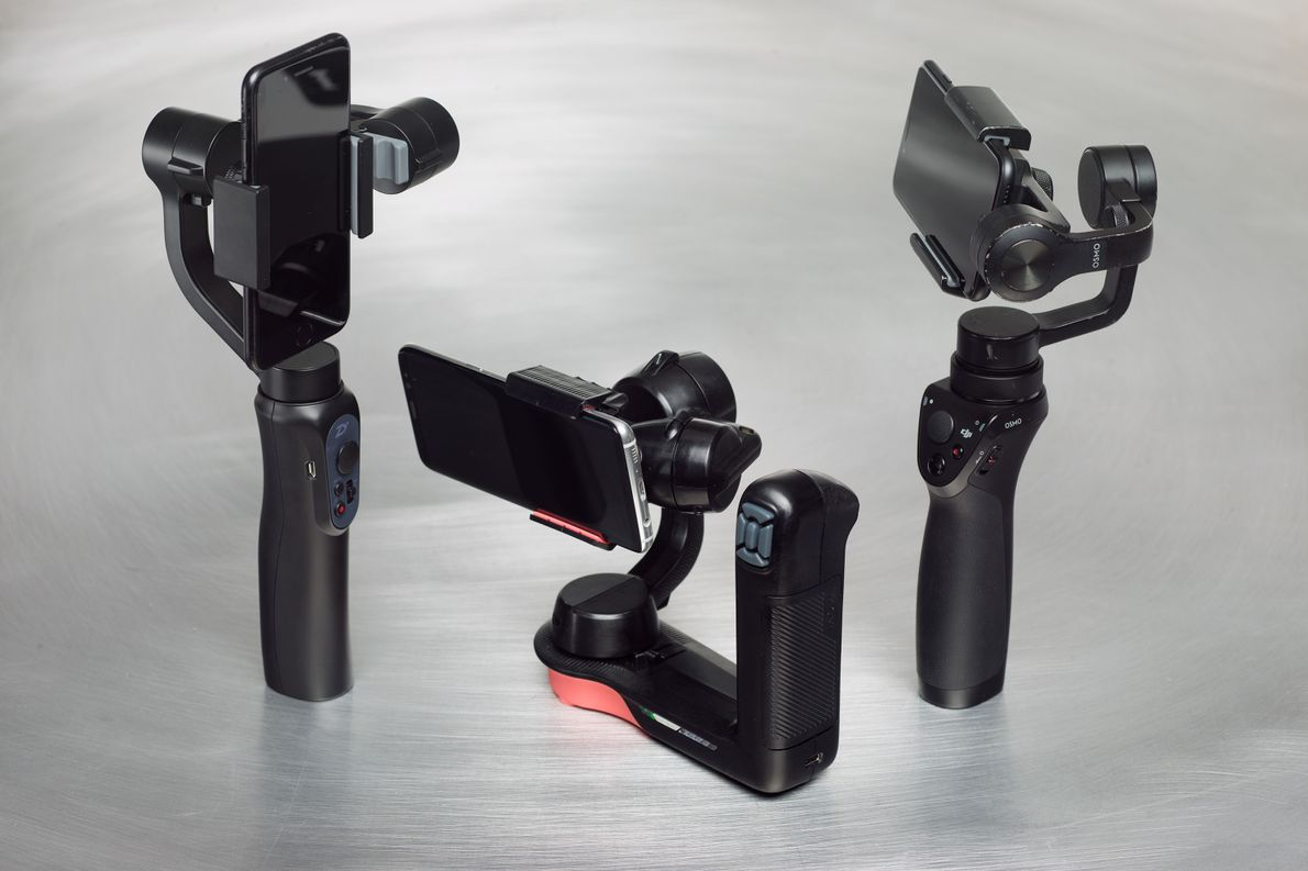 Take mobile phone video to the next level with a gimbal. These devices (once balanced) allow ...