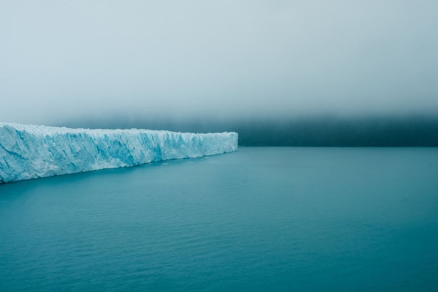 This is the Perito Moreno, one of the biggest glaciers in the world. It is located ...