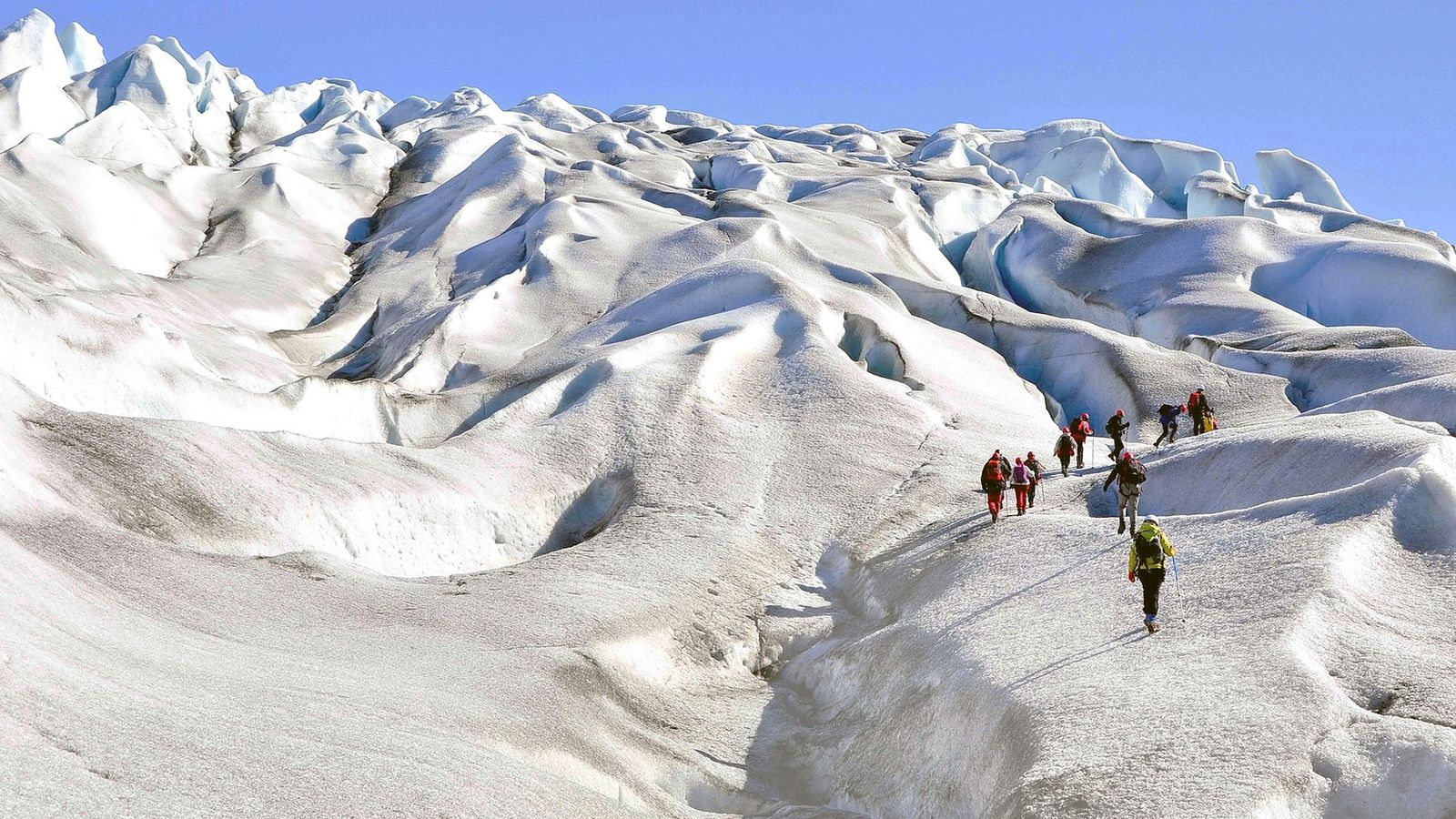 Glacier walking, such as that on Qaleraliq, is a true highlight of discovering South Greenland and ...