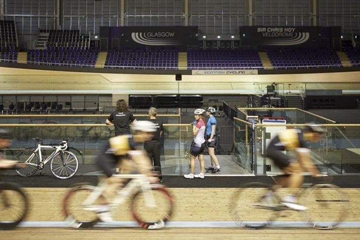 Sir Chris Hoy Velodrome, Commonwealth Arena. Credit: Nick Warner