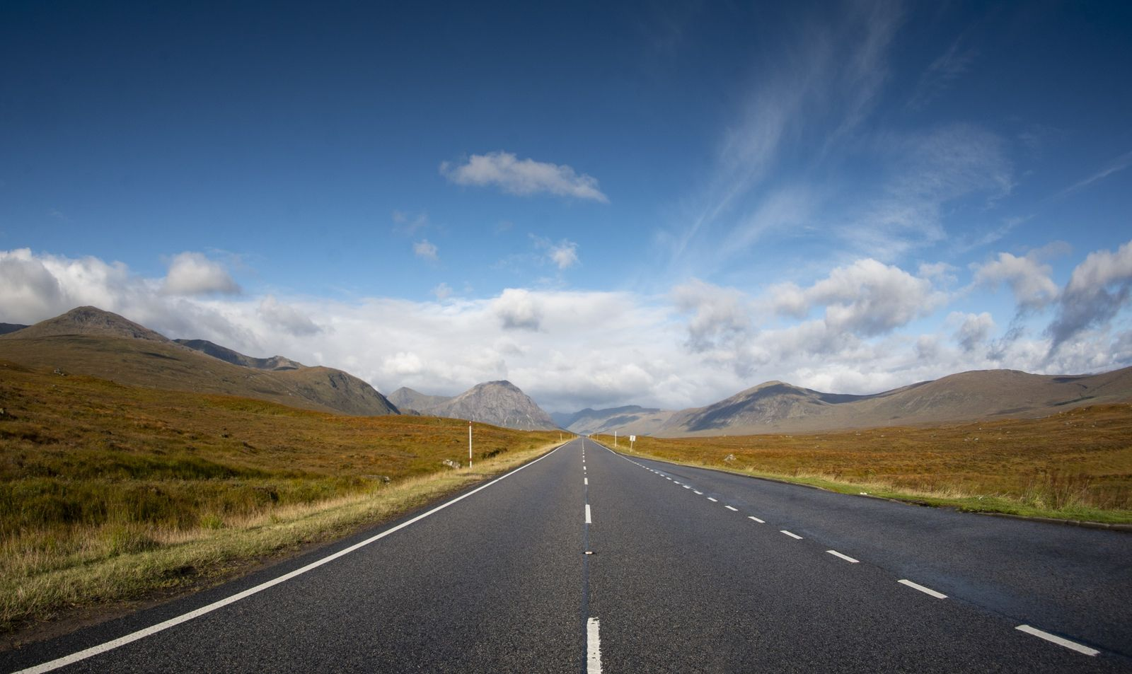 These days, there is a fine road that travels the West Highlands towards Fort William. In ...