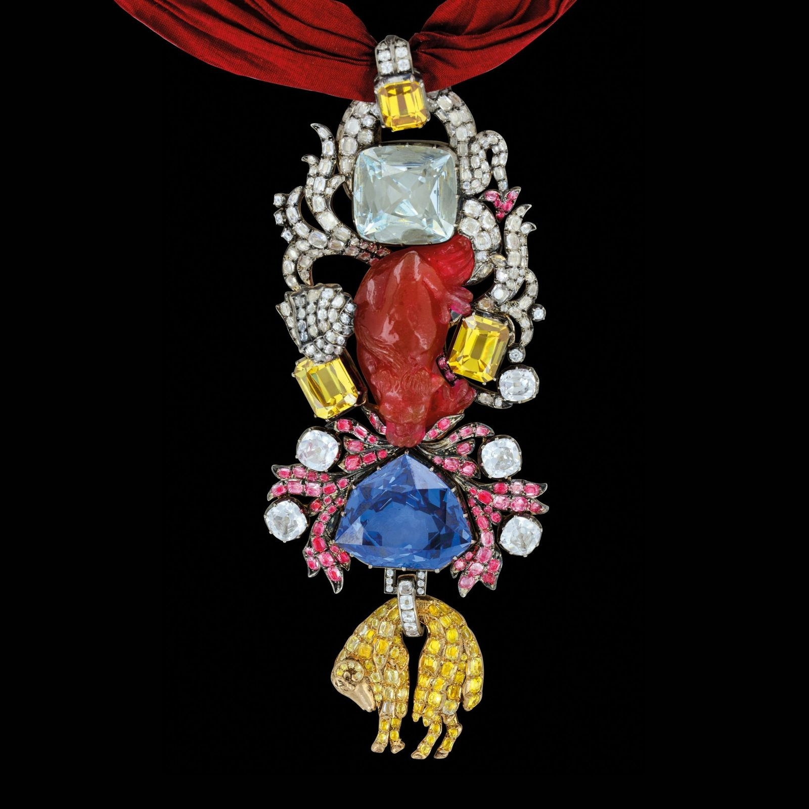 Louis XV's Order of the Golden Fleece was one of the most lavish pieces of jewellery ...