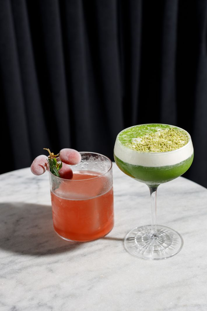Cocktails with Italian and Japanese influences characterise the menu at Golden Gai, Soho, which boasts a ...