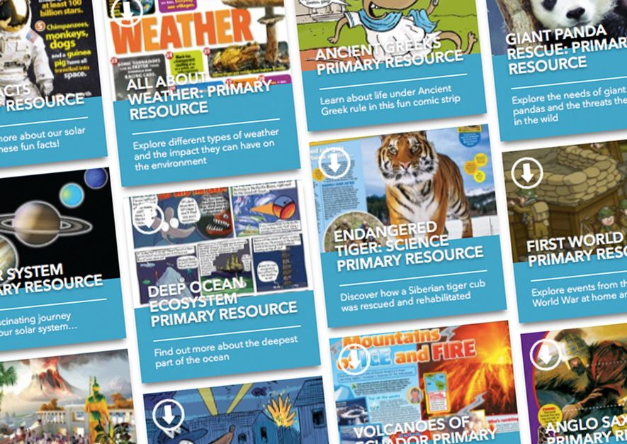National Geographic Kids: downloadable tools for home schooling
