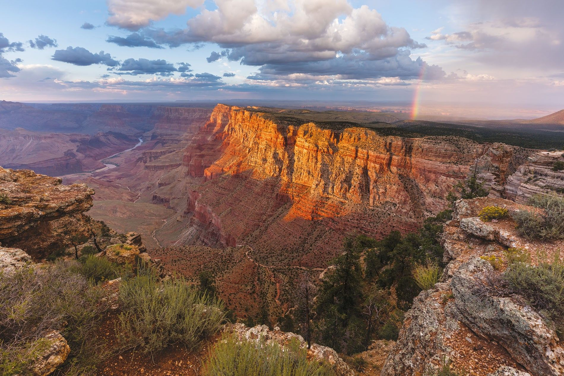 The view from Lipan Point is worth the short detour off the main drive along the ...