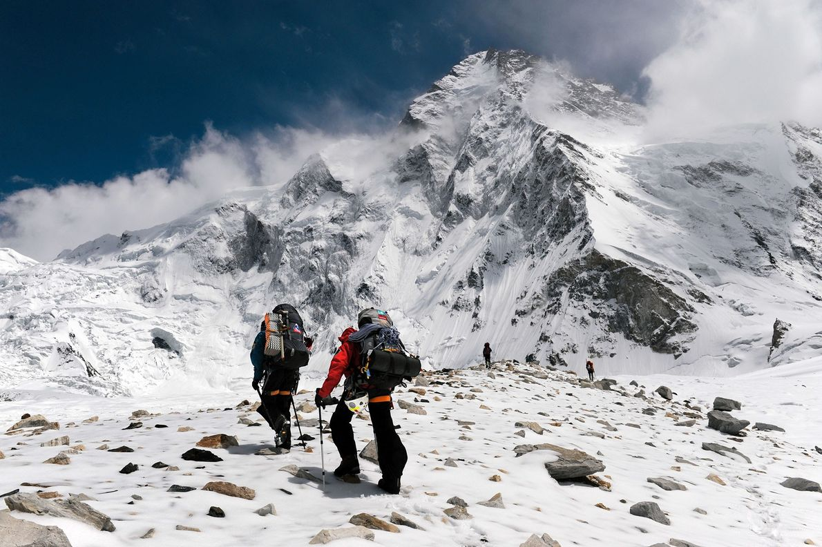 The location, elevation, and harsh climate make K-2—the second-highest mountain in the world—one of the most ...