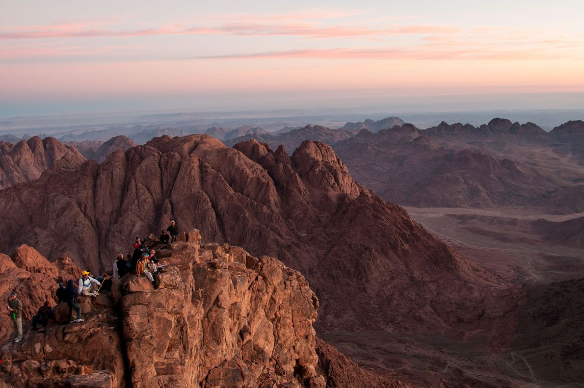 Mount Sinai is historically significant for Christianity, Judaism, and Islam, and is said to be the ...
