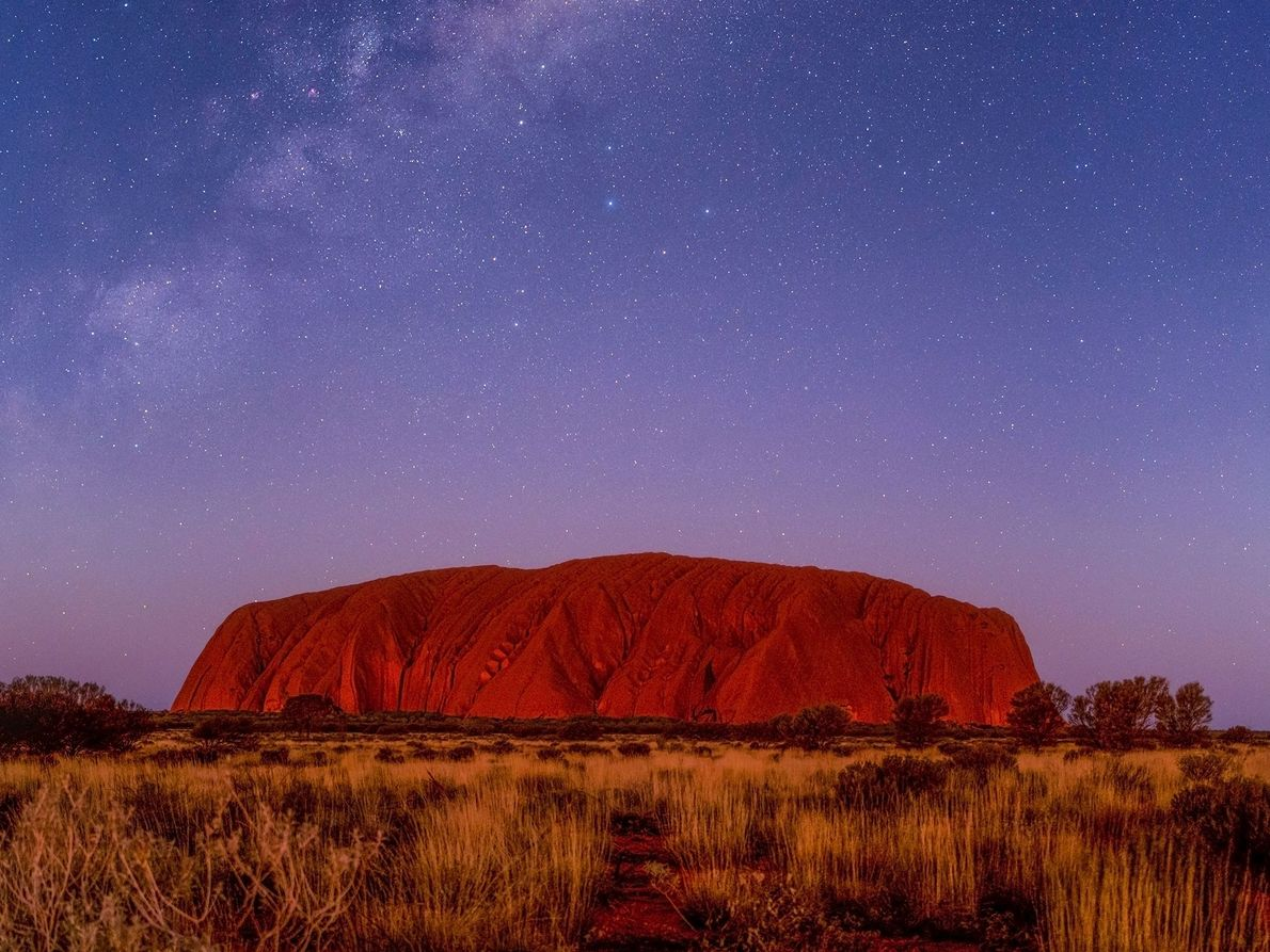 Uluru is a tor, an isolated mass of weathered rock, and is the second largest monolith ...