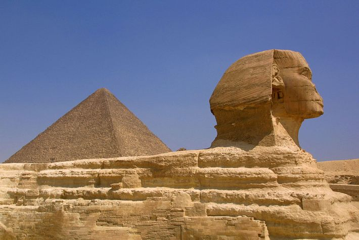 The Sphinx, one of the oldest statues in the world, is a mysterious limestone monument with ...