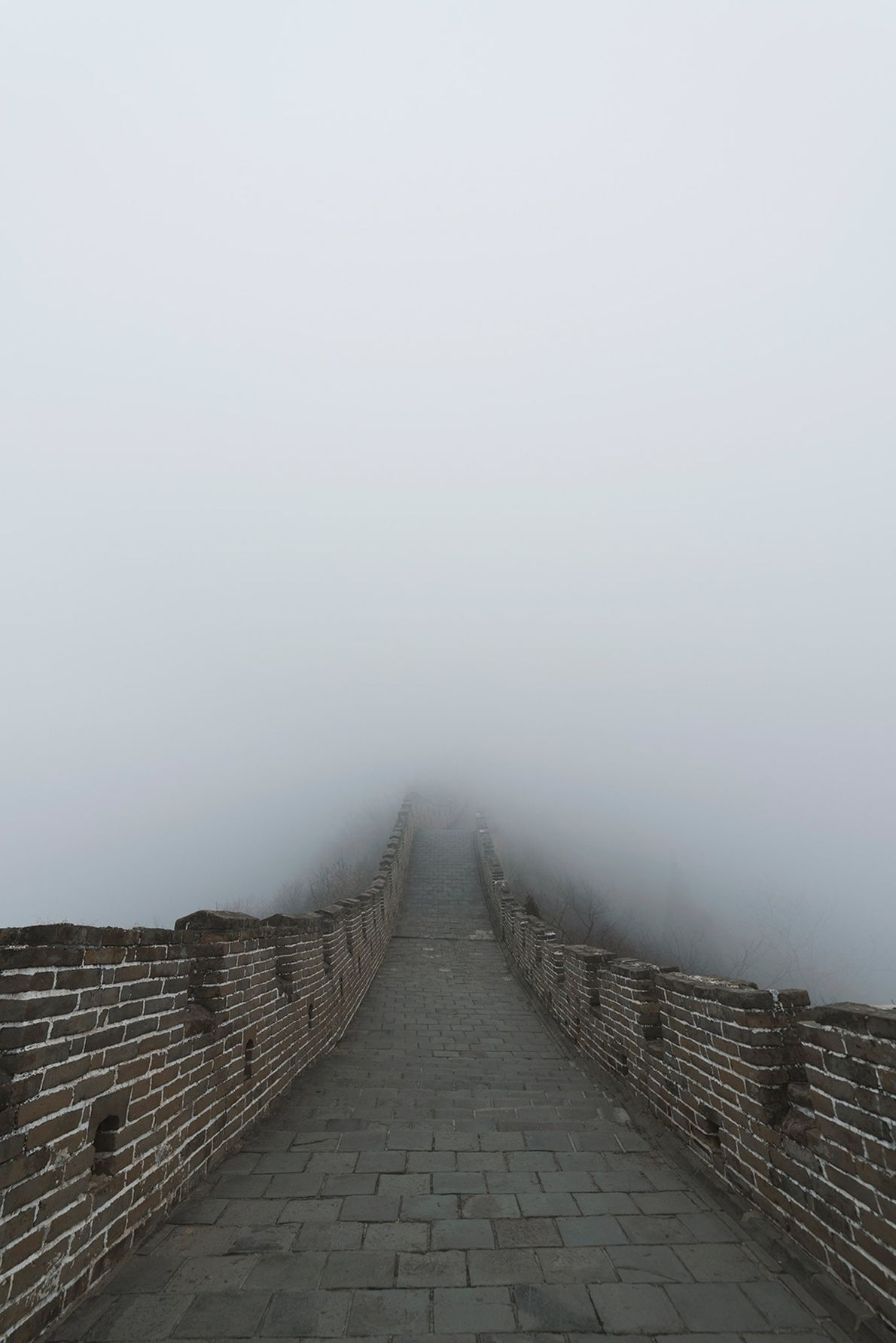 Somewhere at The Great Wall, China. February 2018. Your best photos and memories of a trip ...