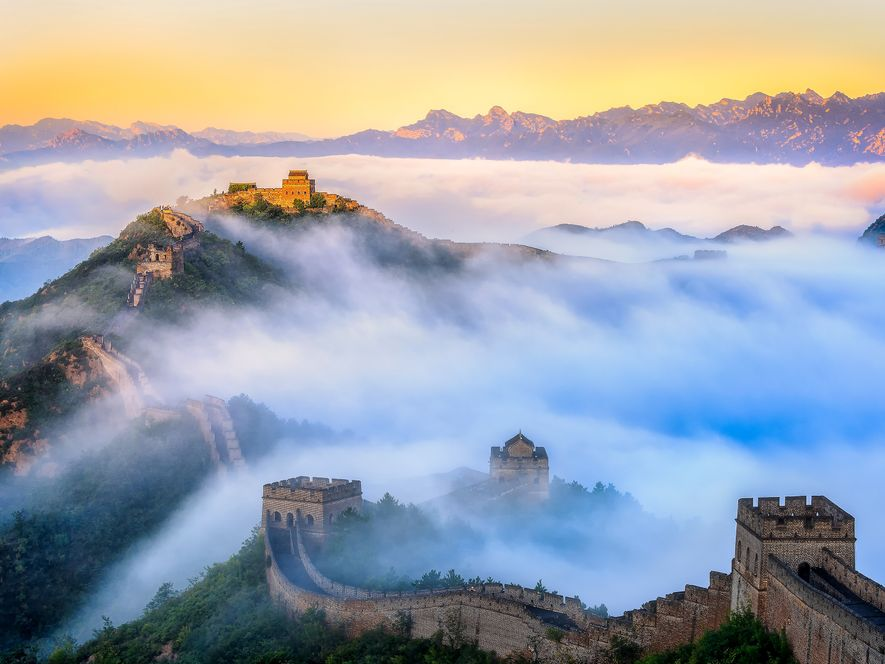 Stretching more than 5,000 miles, the Great Wall of China was built by first emperor, Qin, …