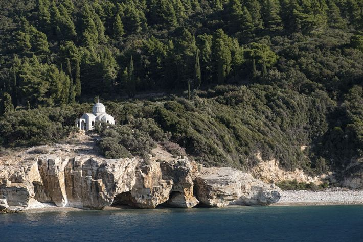 One of the 20 monasteries found on Mount Athos