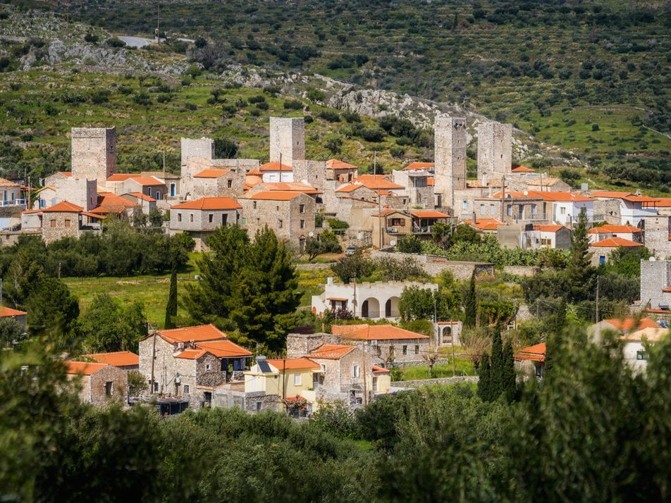 A road trip through the Mani, a literary Greek landscape suspended in time