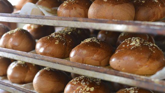 Freshly baked pastries.