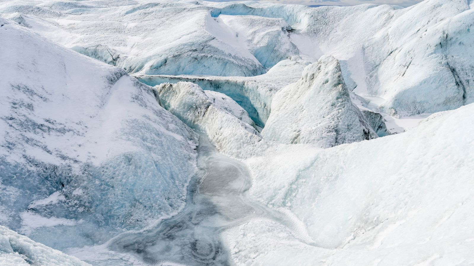 The speed with which the Greenland ice sheet is melting is too quick to be part ...
