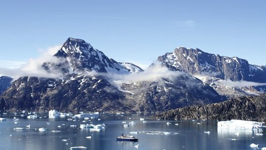 Sejested Fjord, southeastern Greenland