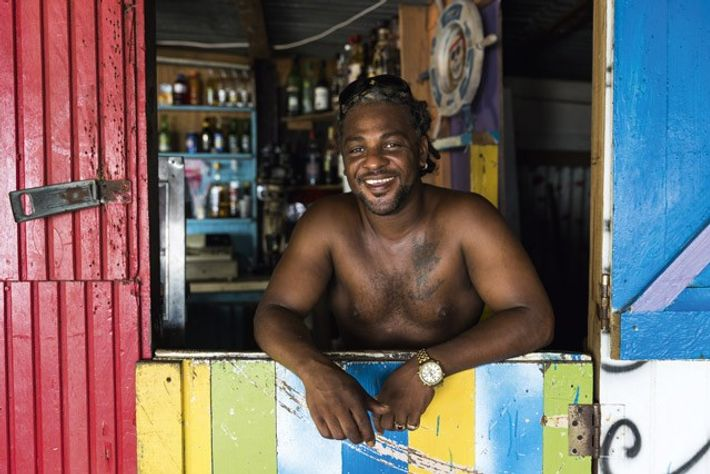 Curtis Malcolm, Paradise Beach, Carriacou, Grenada