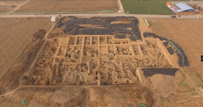 Archaeologists have been excavating the Guanzhuang site since 2011, uncovering workshops and hundreds of pits used ...