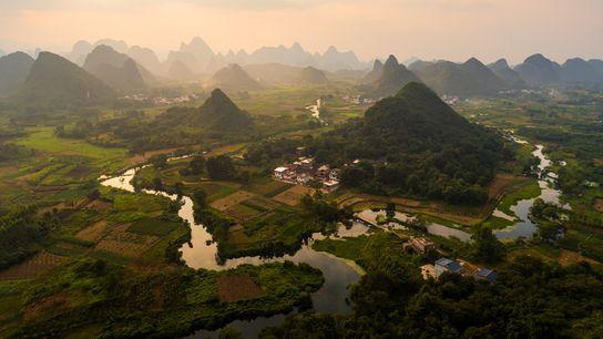 Guilin & Lijiang River National Park, China
