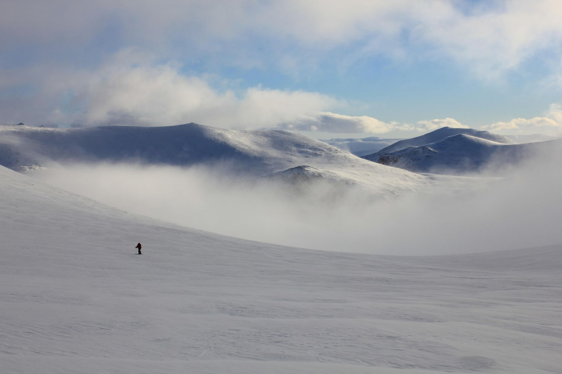 The central Cairngorms is a sub-Arctic wilderness containing four of the five highest mountains in Britain. ...