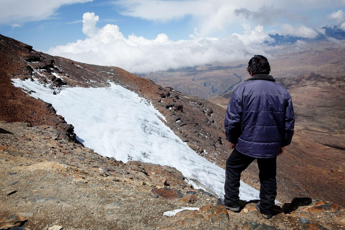 Chacaltaya Glacier, Bolivia