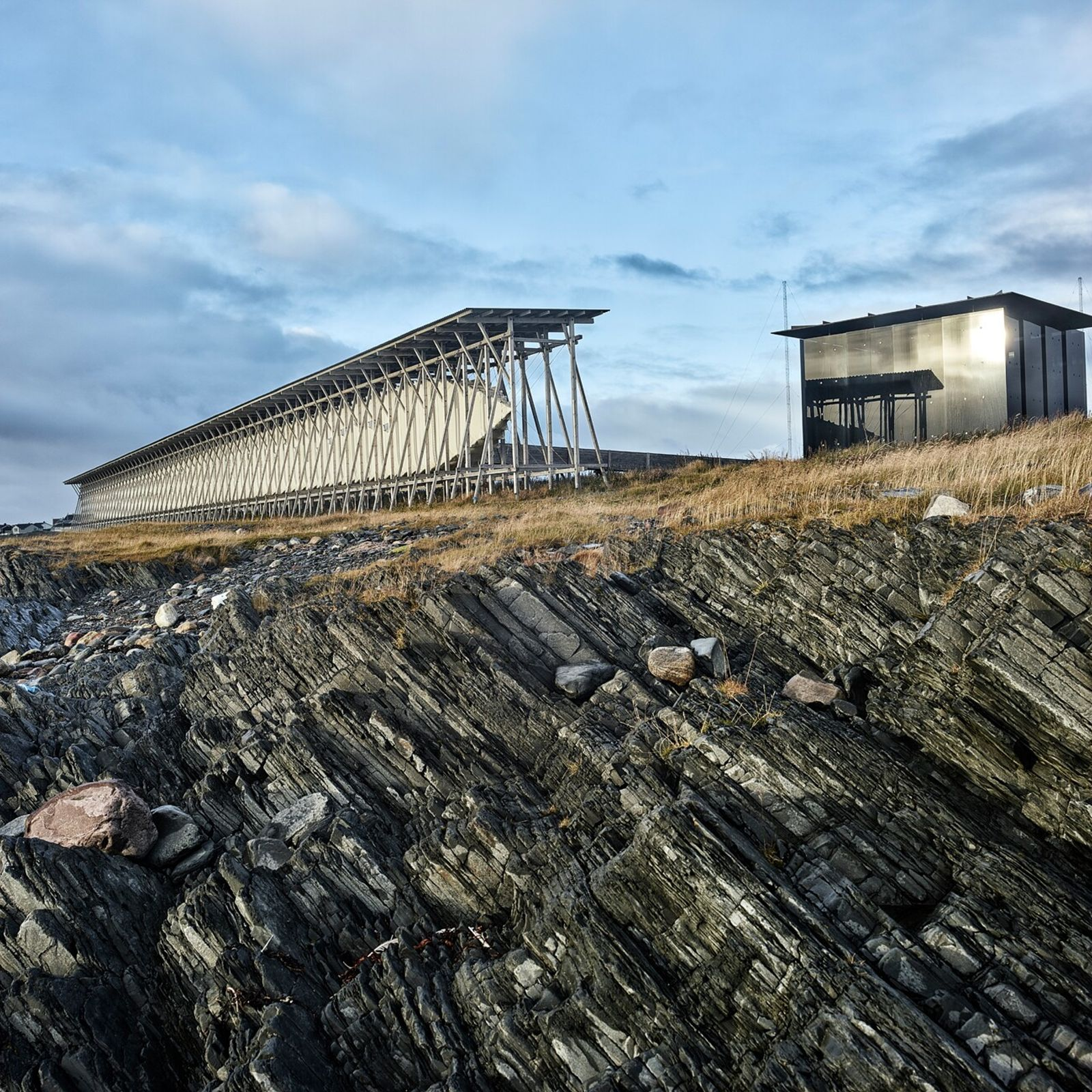 Norway's Steilneset Memorial, located on the coast of the Barents Sea, remembers the country's 91 women ...