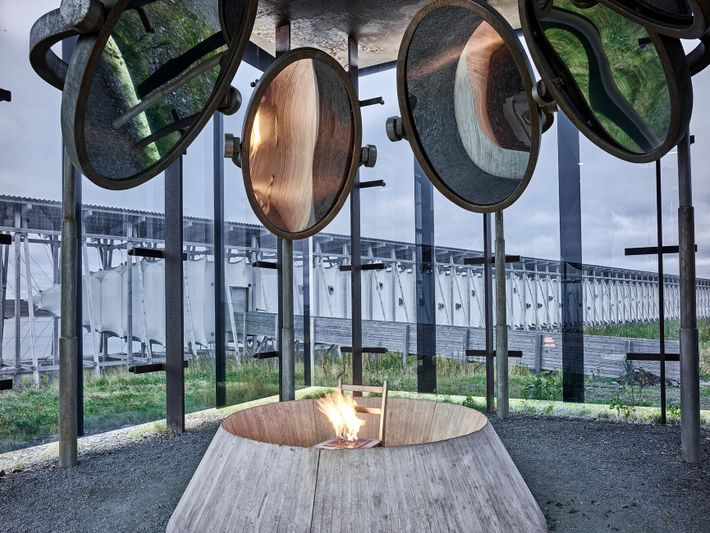 Norway's Stei​lneset Memorial was designed by artist Louise Bourgeois and architect Peter Zumthor to remember the ...