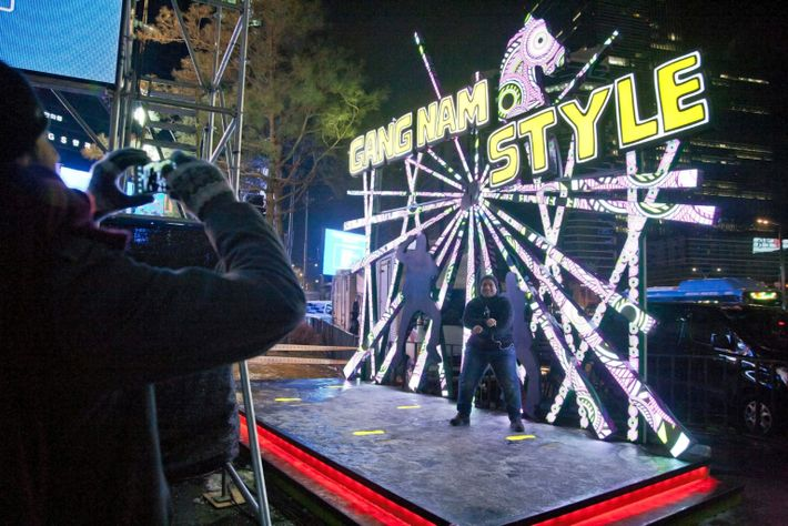 """Psy, singer of """"Gangam Style,"""" feeds the global ambitions of the Gangnam district."""