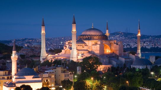 The 1,500-year-old Hagia Sophia, now Turkey's most popular tourist attraction, has been stripped of its museum ...