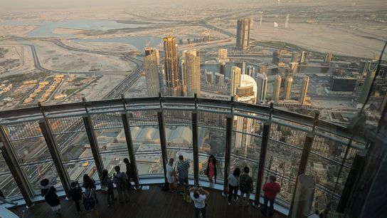 Dubai – one of the places some decide to visit, fall in love with, and never ...