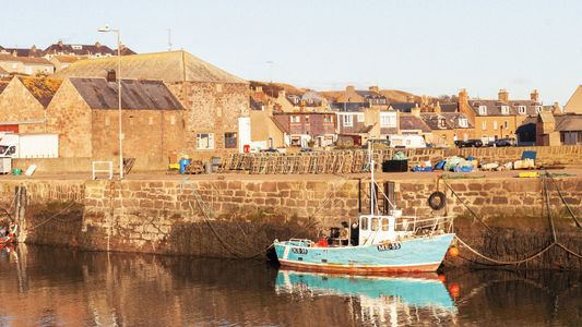 Photo story: the celebrated seafood of Stonehaven, Scotland