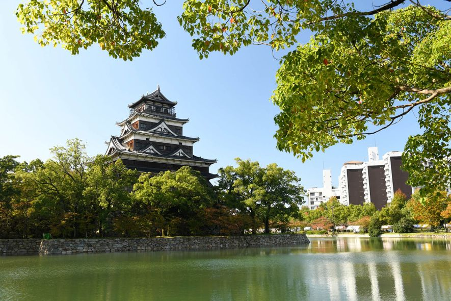 Hiroshima Castle, sometimes called Carp Castle, was a castle in Hiroshima that was the home of ...