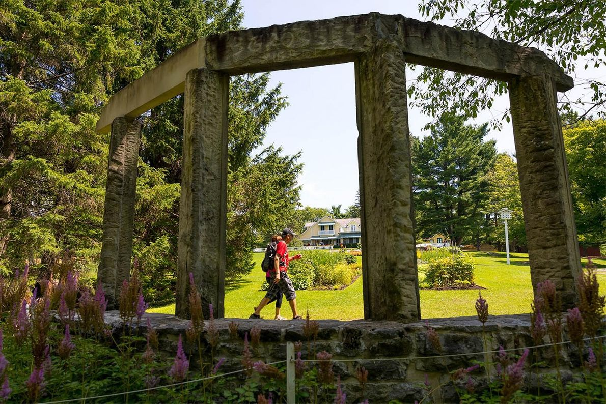 Discover the historical ruins, beautiful gardens and exhibits at the Mackenzie King Estate which covers some ...