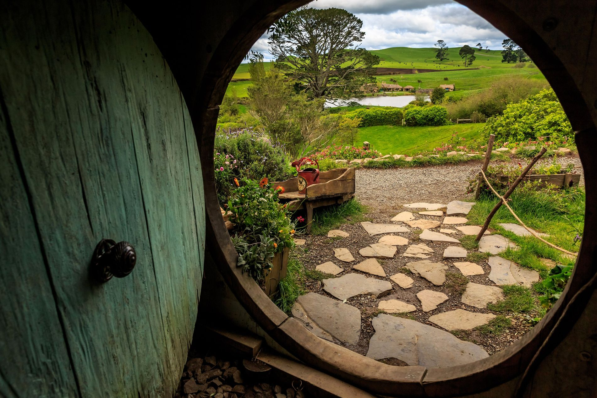 The hobbit holes of the North Island's Hobbiton movie set act as a portal to New Zealand's film legacy.