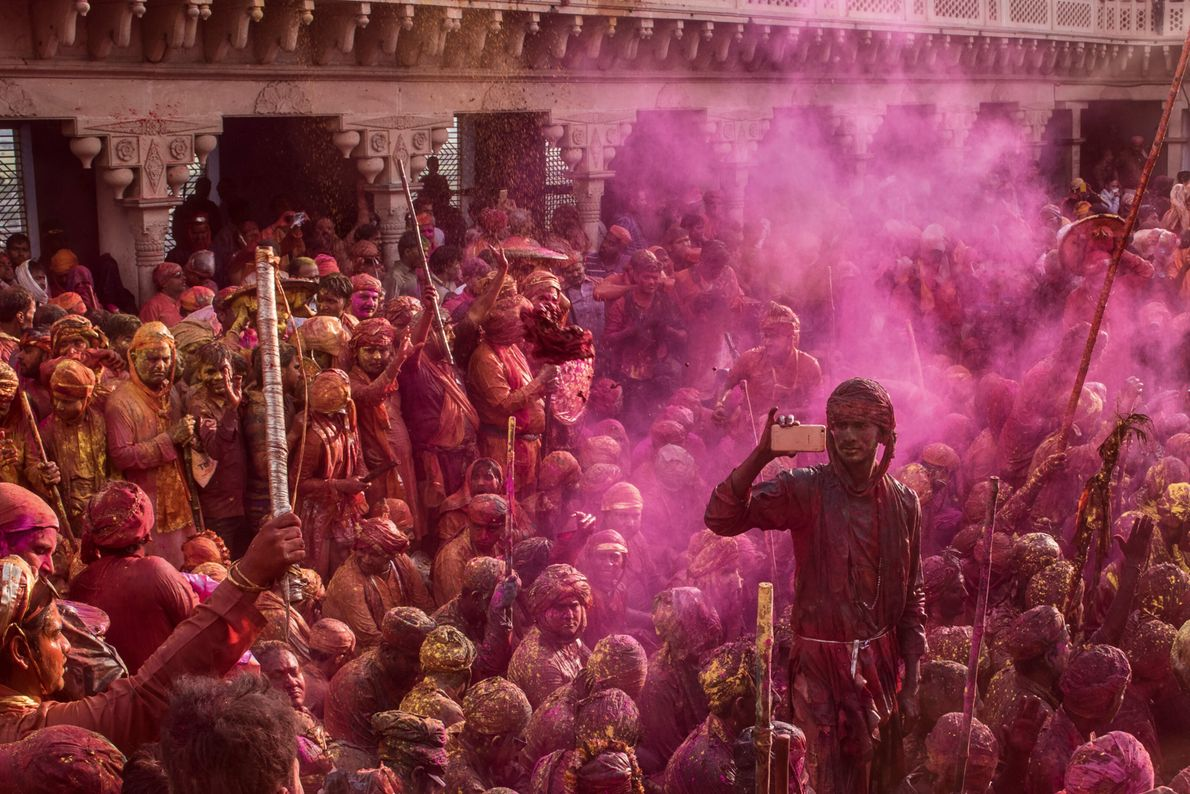 Magenta, yellow, crimson, blue — the vibrant colours of Holi are recognisable the world over, but ...