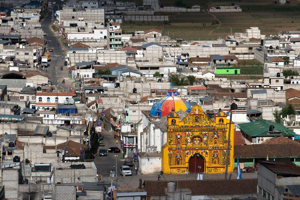 Church of San Andrés Xecul, Guatemala