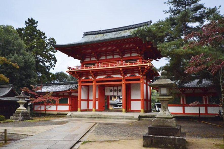 Inamiya Shrine. Image: John Malathronas