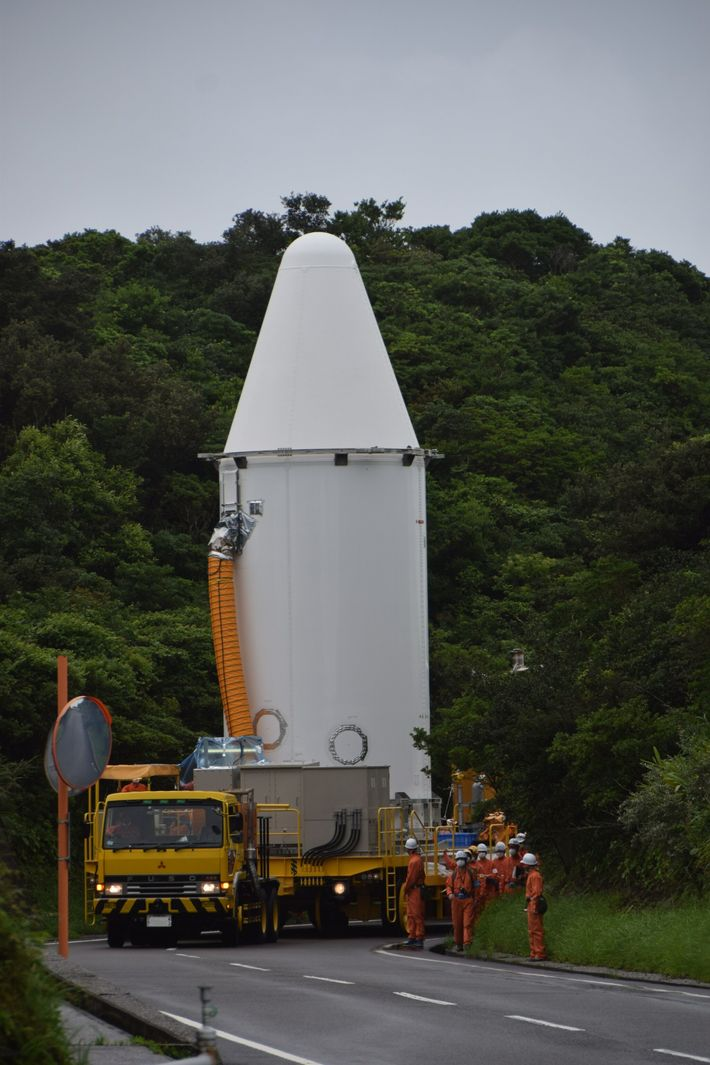 Hope probe readied for launch