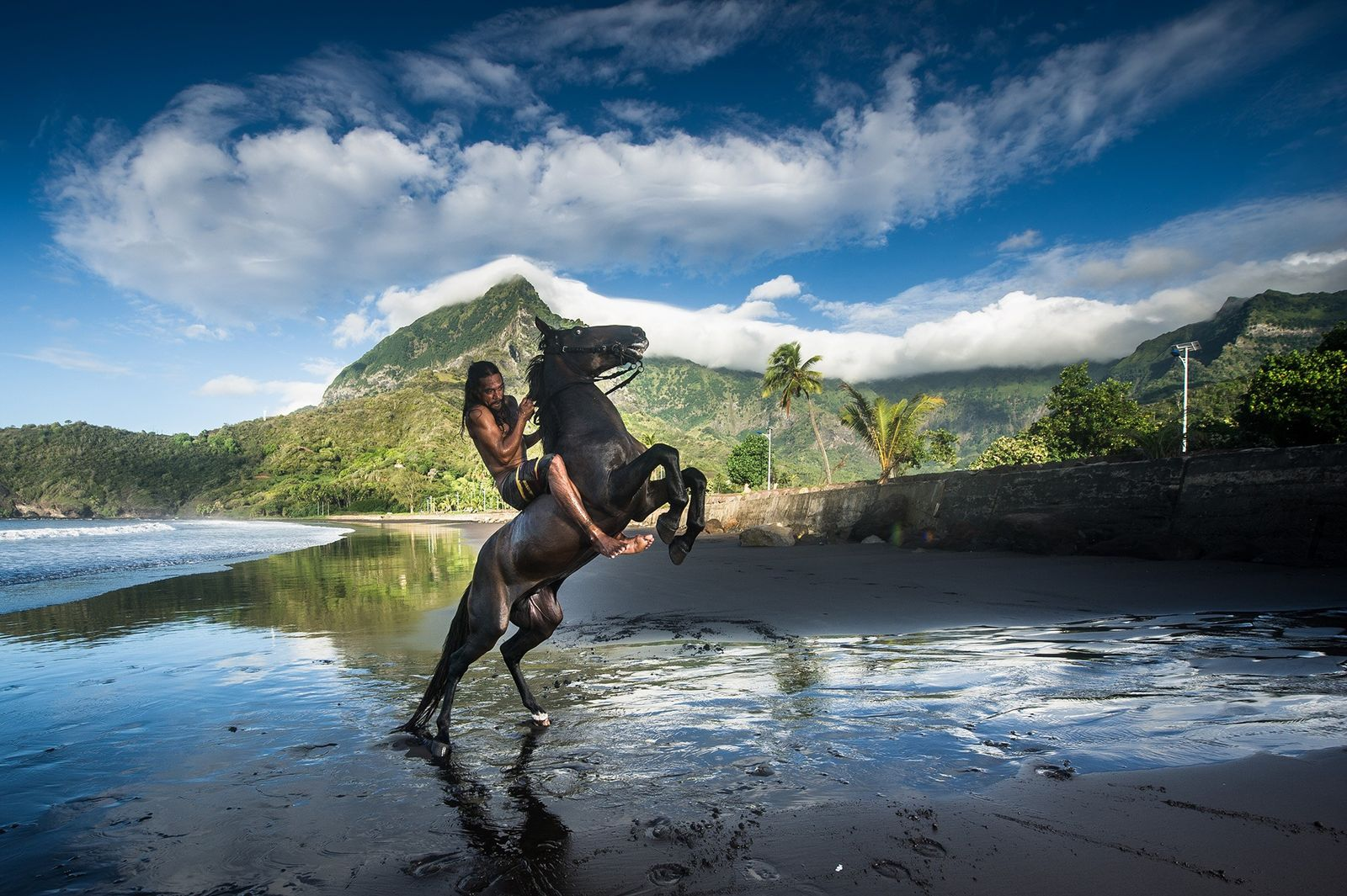 Meet the last horsemen of these paradise islands